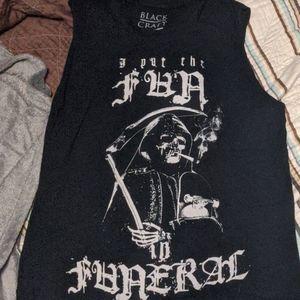 Blackcraft fun in funeral muscle tee
